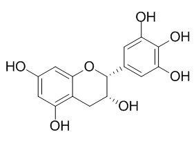 Chemical structure of (-)-Epigallocatechin(EGC)