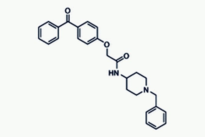Chemical structure of AdipoRon
