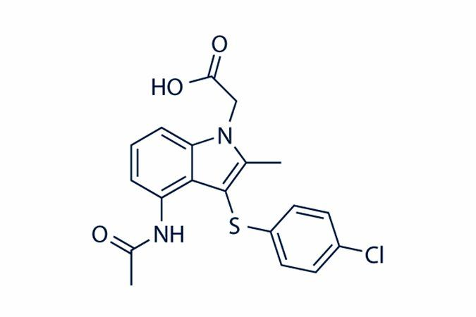 Chemical structure of AZD1981