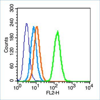 Flow cytometric analysis of HL60 cell using Insulin Receptor alpha antibody