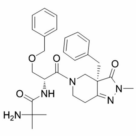 Chemical structure of Capromorelin