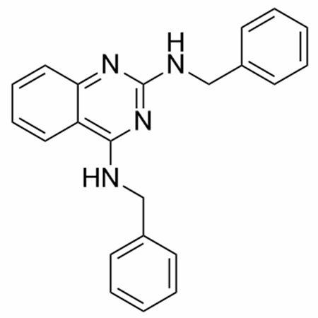 Chemical structure of DBeQ