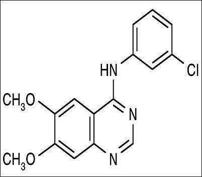 Tyrphostin AG 1478, Free Base: AG-1478 hydrochloride, AG-1478, AG1478
