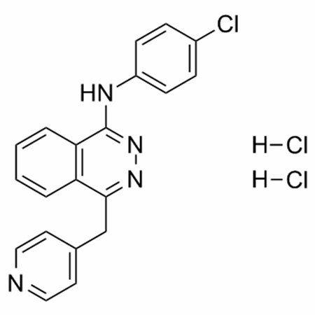 Chemical structure of Vatalanib