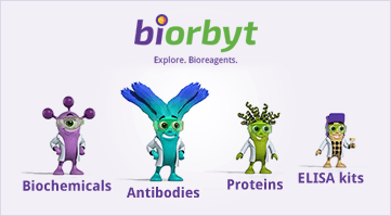 Save up to 15% off Antibodies, Proteins, ELISA Kits and Biochemicals from Biorbyt